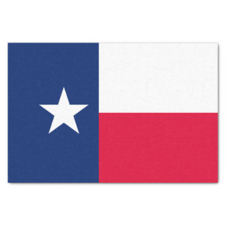 Papel De Seda Gráfico dinâmico da bandeira do estado de Texas em