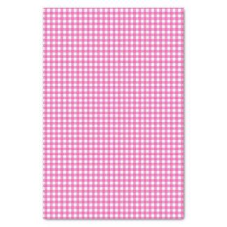 Papel De Seda Guingão cor-de-rosa clássico