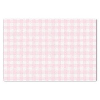 Papel De Seda Guingão rosa pálido bonito teste padrão verificado