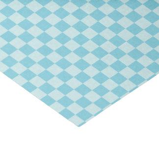 Papel De Seda HAMbyWG - tecido do presente - guingão Aqua-Azul