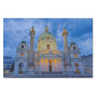 Papel De Seda Igreja do santo Charles, Viena