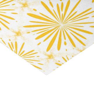 Papel De Seda Impressão amarelo lustroso