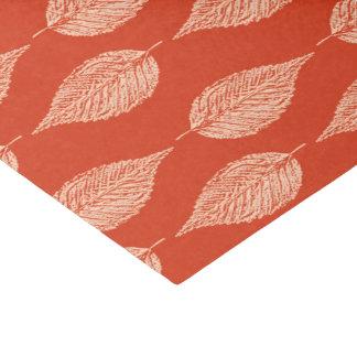 Papel De Seda Impressão do giz da folha da faia, tanjerina