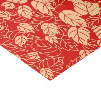 Papel De Seda Impressão japonês da folha, tanjerina