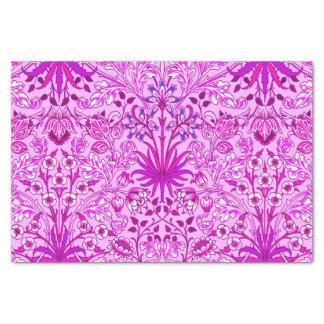 Papel De Seda Impressão, lavanda e violeta do jacinto de William