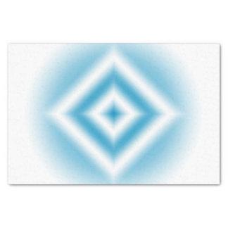 Papel De Seda inclinação azul do diamante do Personalizar-céu