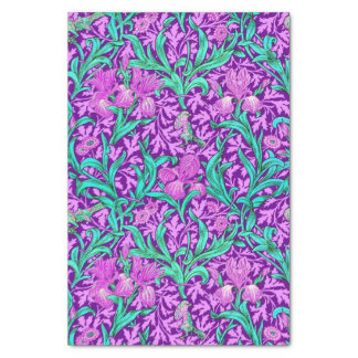 Papel De Seda Íris de William Morris, roxo Amethyst