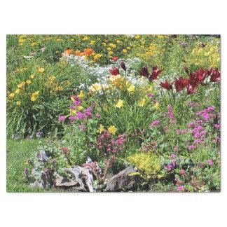 Papel De Seda Jardins meados de coloridos do verão!