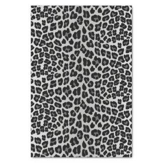 Papel De Seda Leopardo de neve