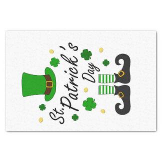 Papel De Seda Leprechaun de Patricks da rua