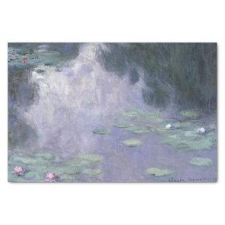 Papel De Seda Lírios de água Nymphéas 1907 de Claude Monet