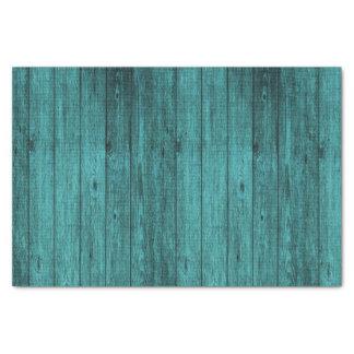 Papel De Seda madeira azul
