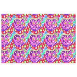 Papel De Seda Mão colorida bonito teste padrão tirado