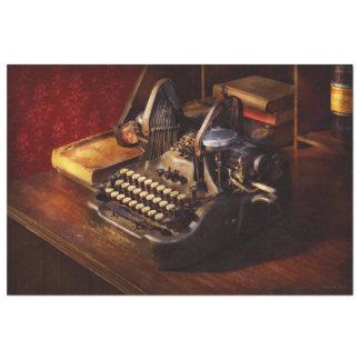 Papel De Seda Máquina de dactilografia de Steampunk - de Oliver
