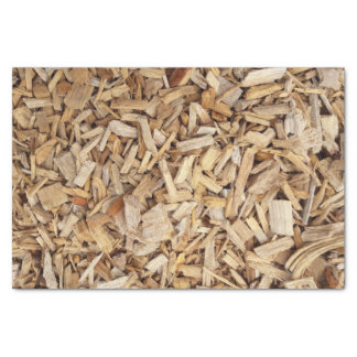 Papel De Seda Microplaquetas de madeira