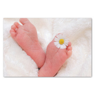 Papel De Seda Miúdos recém-nascidos do bebê