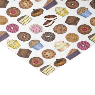 Papel De Seda Muffin da brownie da rosquinha da torta do bolo do