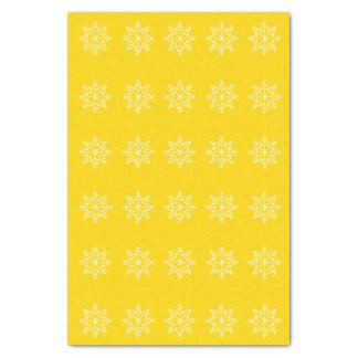 Papel De Seda Natal do Xmas do amarelo do auto escolar do