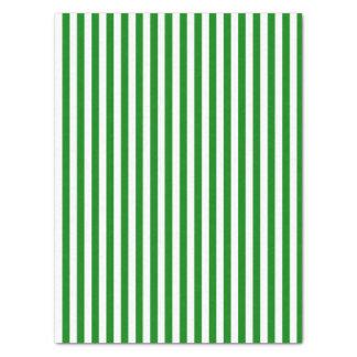 Papel De Seda Natal listrado verde e branco ou toda a ocasião