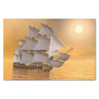 Papel De Seda Navio mercante velho - 3D rendem