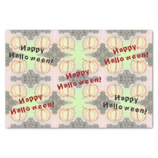 Papel De Seda O Dia das Bruxas feliz! Tecido Playfully-Modelado