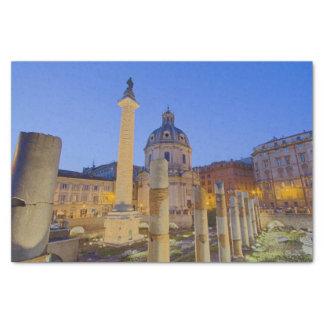 Papel De Seda O fórum romano em Roma