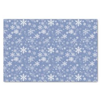 Papel De Seda O gráfico dos flocos de neve personaliza o fundo