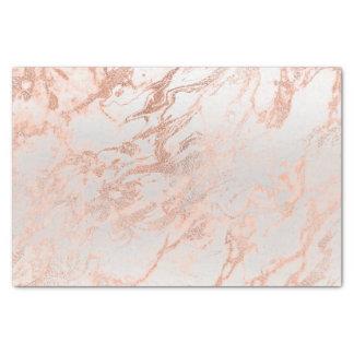 Papel De Seda O ouro cor-de-rosa do pêssego coral cora cinzas de