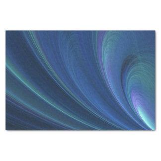 Papel De Seda Ondas de areia macias azuis e verdes