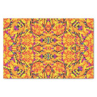Papel De Seda Ornamentado vibrante colorido