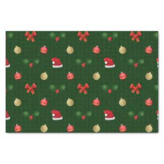 Papel De Seda Ornamento de Navidad do guingão