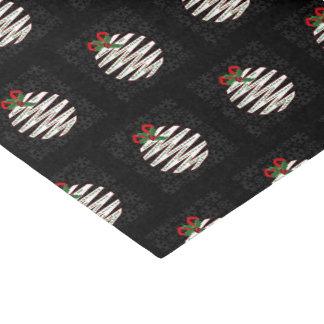 Papel De Seda Ornamento preto e branco moderno Origami do