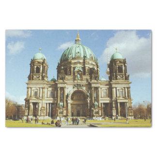 Papel De Seda Os DOM evangélicos alemães do berlinês da catedral