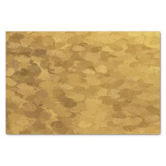 Papel De Seda Ouro Bokeh 4300