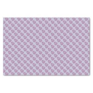 Papel De Seda Ovo da páscoa roxo com pontos cor-de-rosa
