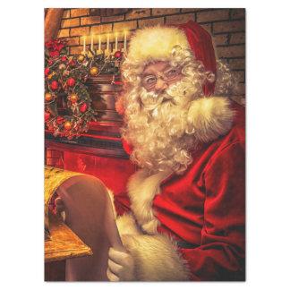 Papel De Seda Papai Noel 4