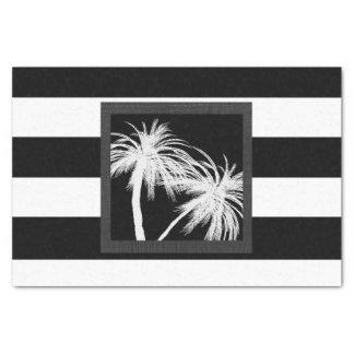Papel De Seda Partido chique moderno das palmeiras tropicais