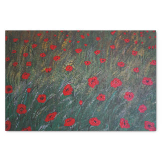 Papel De Seda Poppy meadow