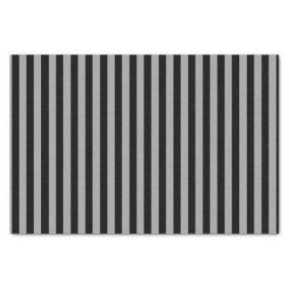 Papel De Seda Prata vertical e listras pretas