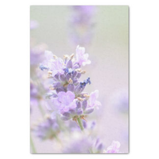 "Papel De Seda Pulverizador da lavanda 10"" floral X 15"" lenço de"