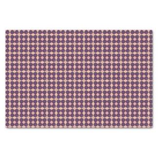 Papel De Seda Purple Kaleidoscope Pattern