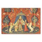 Papel De Seda Senhora e a arte medieval da tapeçaria do