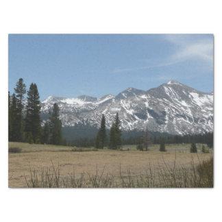 Papel De Seda Serra montanhas de Nevada mim de Yosemite
