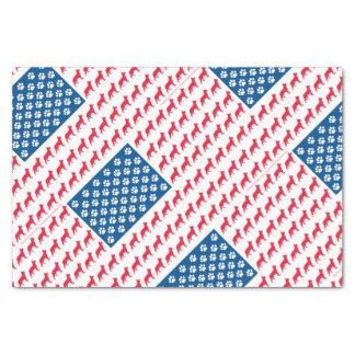 Papel De Seda Shepard-Bandeira patriótica
