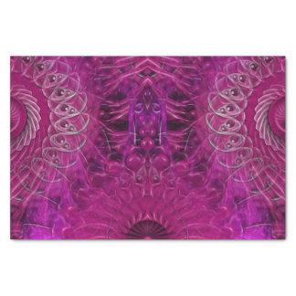 Papel De Seda Splatter espiral (rosa)