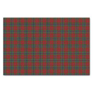 Papel De Seda Tartan MacLean moderno escocês de Maclean de Duart