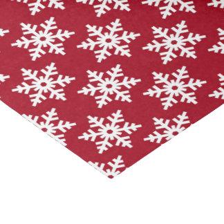 Papel De Seda Tecido branco vermelho festivo do partido do teste
