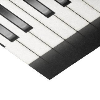 Papel De Seda Tecido legal do partido dos melómanos do piano