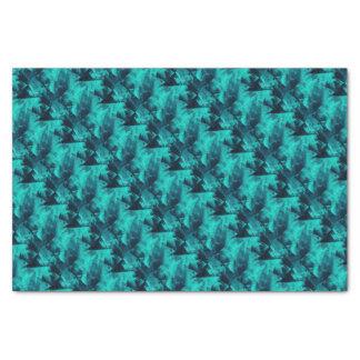 Papel De Seda Teste padrão abstrato brilhante do azul e da