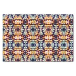 Papel De Seda Teste padrão abstrato geométrico multicolorido